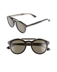 Gucci - Multicolor Vintage Pilot 50mm Sunglasses - Lyst
