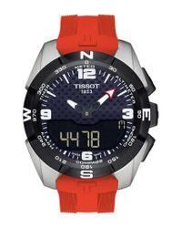 Tissot - Metallic T-touch Expert Solar Multifunction Smartwatch for Men - Lyst