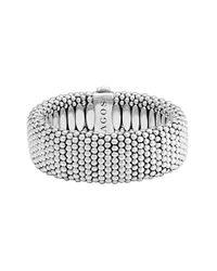 Lagos   Metallic Rope Bracelet   Lyst