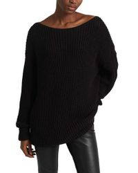 French Connection - Black Millie Mozart Sweater - Lyst