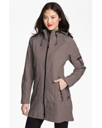 Ilse Jacobsen - Brown Rain 7 Hooded Water Resistant Coat - Lyst