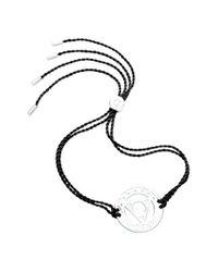 Daisy London - Metallic 'throat Chakra' Cord Bracelet - Lyst