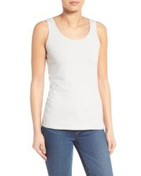 NIC+ZOE | White 'perfect' Tank | Lyst