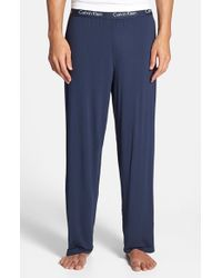 Calvin Klein | Blue 'u1143' Micromodal Lounge Pants for Men | Lyst