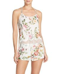 Flora Nikrooz | White Abigal Short Pajamas | Lyst