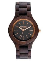 WeWood | Brown Antea Wood Bracelet Watch | Lyst