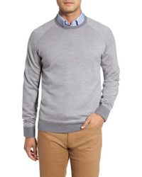 Peter Millar | Gray Soltice Merino Sweater for Men | Lyst