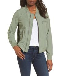Caslon - Green Caslon Bomber Jacket for Men - Lyst