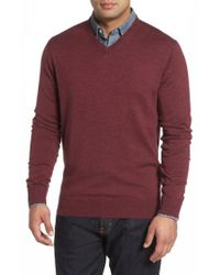Peter Millar | Purple Merino Sweater for Men | Lyst