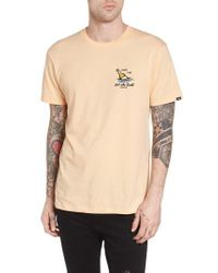 Vans - Natural Off The Wall Lounge T-shirt for Men - Lyst