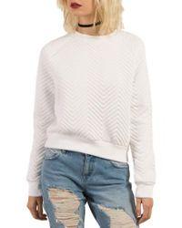 Volcom - White Cozy Dayz Sweatshirt - Lyst
