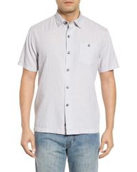 Tommy Bahama - White Once In A Tile Regular Fit Sport Shirt for Men - Lyst