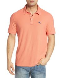 Tommy Bahama - Blue Tropicool Spectator Pique Polo for Men - Lyst