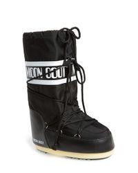 Tecnica | Black Tecnica 'original' Moon Boot | Lyst
