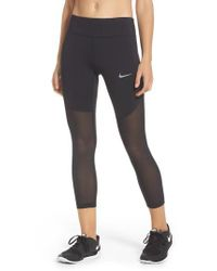 Nike | Black Power Epic Crop Tights | Lyst