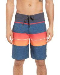 Rip Curl - Orange Mirage Eclipse Board Shorts for Men - Lyst