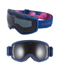 Electric - Blue Eg 2.5 215mm Snow Goggles - Pinecones Navy/ Jet Black - Lyst