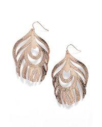 Kendra Scott | Metallic Statement Earrings | Lyst