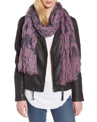 Treasure & Bond - Purple Print Crinkle Wrap - Lyst