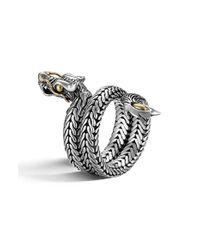 John Hardy | Metallic 'legends' Coil Ring | Lyst