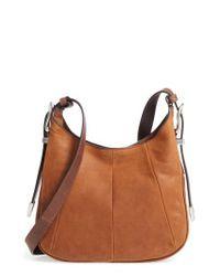 Frye - Brown Jacqui Leather Crossbody Bag - Lyst