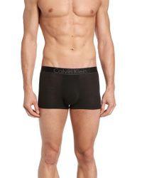Calvin Klein   Black Modern Stretch Modal Trunks for Men   Lyst