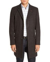 Vince Camuto | Black Plaid Hunting Jacket for Men | Lyst
