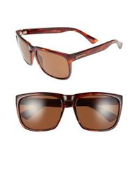 Electric - Brown 'knoxville Xl' 61mm Polarized Sunglasses - Lyst