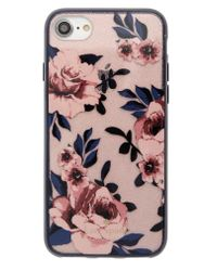 Kate Spade - Pink Glitter Prairie Rose Iphone 7/8 & 7/8 Plus Case - - Lyst