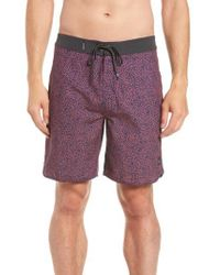 Rip Curl - Red Mirage Conner Spin Out Board Shorts for Men - Lyst
