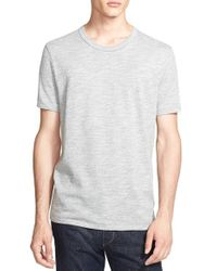 Rag & Bone | Gray Standard Issue 'moulinex' Crewneck T-shirt for Men | Lyst