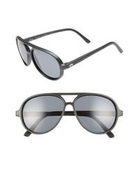 b3ca0e4b21 Lyst - Rheos Palmettos Floating 60mm Polarized Aviator Sunglasses in ...