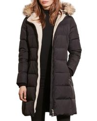 Lauren by Ralph Lauren | Black Quilted Parka | Lyst