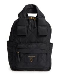 Marc Jacobs | Black Nylon Knot Backpack | Lyst