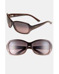 Maui Jim - Brown Pearl City 63mm Polarizedplus2 Sunglasses - Chocolate Fade - Lyst