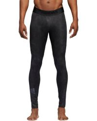 Adidas - Black Alphaskin Sport Supreme Speed Pants for Men - Lyst