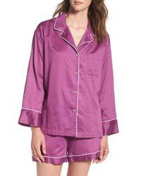 Natori | Pink Essentials Short Pajamas | Lyst