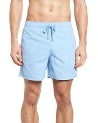 Vilebrequin | Blue Coral Water Reactive Swim Trunks for Men | Lyst