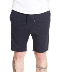Zanerobe - Black 'sureshot' Ikat Drawstring Shorts for Men - Lyst