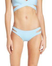 L*Space | Blue 'estella' Bikini Bottoms | Lyst