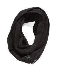 Patagonia | Black 'better Sweater' Wide Scarf | Lyst