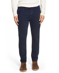 Hudson | Blue Blake Slim Fit Jeans for Men | Lyst
