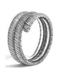 John Hardy | Metallic 'classic Chain' Double Coil Bracelet | Lyst