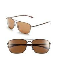 Smith Optics | Brown 'nomad' 59mm Polarized Sunglasses | Lyst