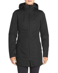 The North Face | Black 'ancha' Hooded Waterproof Parka | Lyst