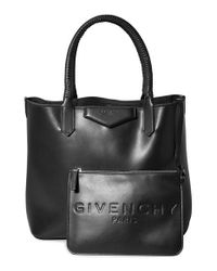 Givenchy | Black 'small Antigona' Leather Shopper | Lyst