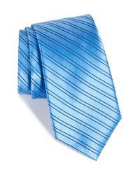 Nordstrom - Blue Nordstrom 'uptown Stripe' Silk Tie for Men - Lyst
