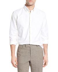Billy Reid - White Standard Fit Oxford Sport Shirt for Men - Lyst