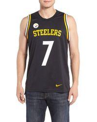 Nike - Black Steelers Jersey for Men - Lyst