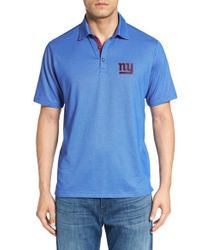 Tommy Bahama | Blue Nfl Double Eagle Spectator Bird's-eye Polo for Men | Lyst